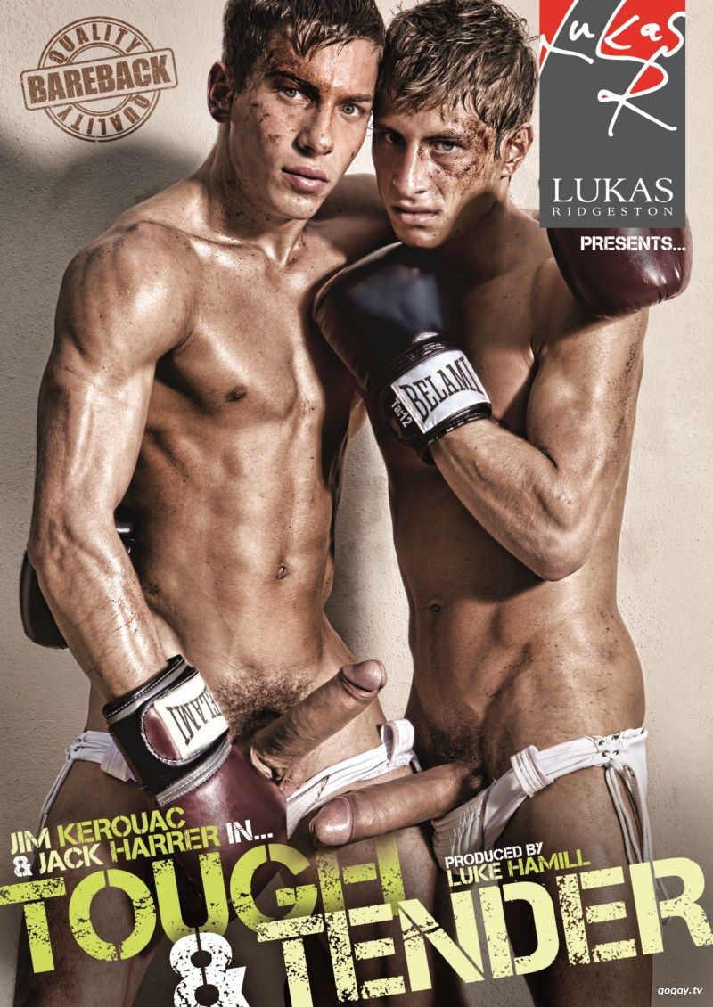 Lucas Ridgeston Tough & Tender Gay DVD Image