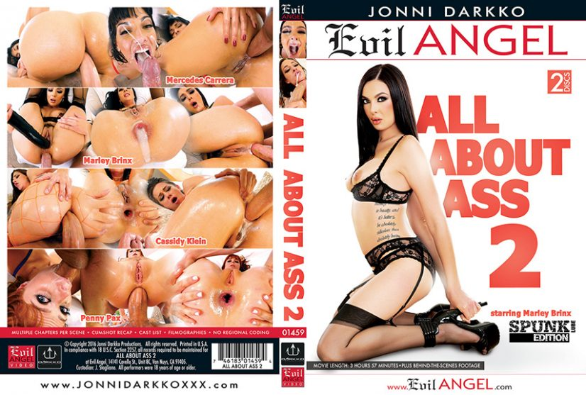 All About Ass 2 Porn DVD Image