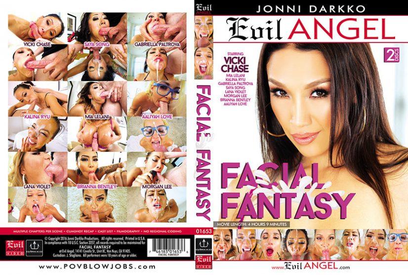 Facial Fantasy Porn DVD Image