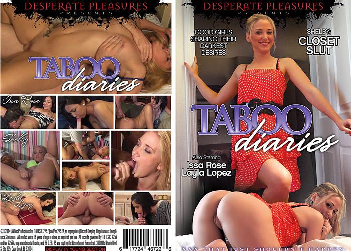 Taboo Diaries Porn DVD Image