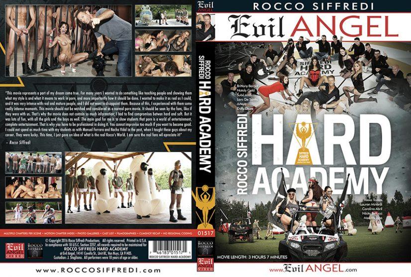 Hard Academy Porn DVD Image