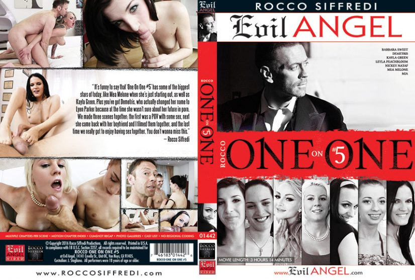 Rocco One on One 5 Porn DVD Image