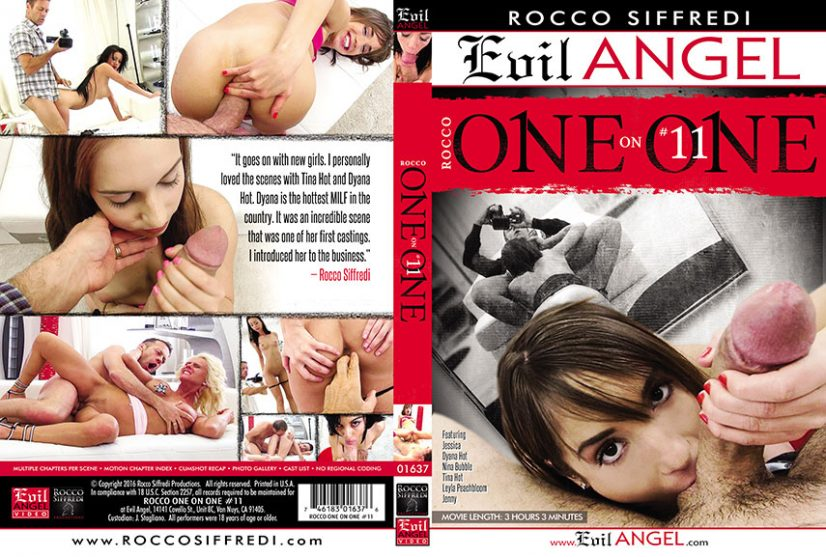 Rocco One on One 11 Porn DVD Image