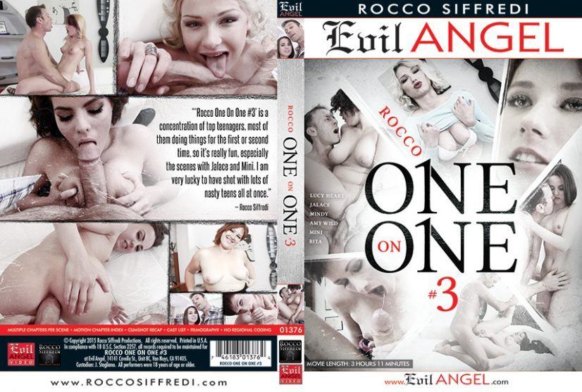 Rocco One on One 3 Porn DVD Image