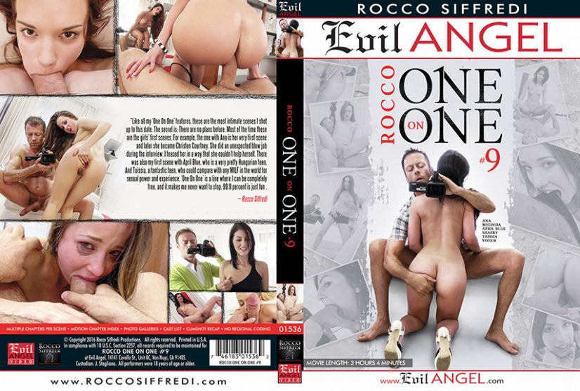 Rocco One on One 9 Porn DVD Image