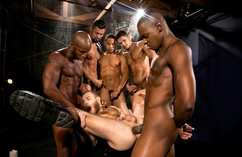 Gay Men Group Sex