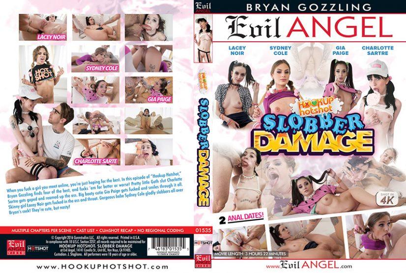 Slobber Damage Porn DVD Image