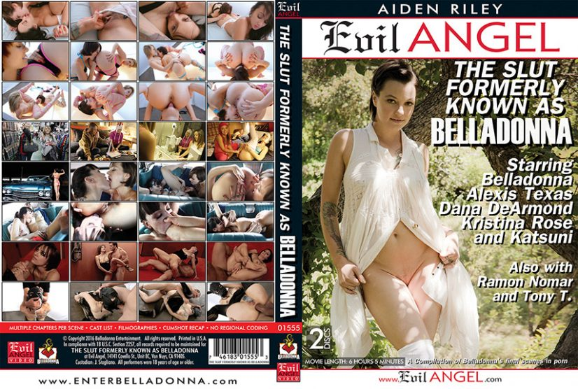 The Slut Formerly Known As Belladonna Porn DVD Image