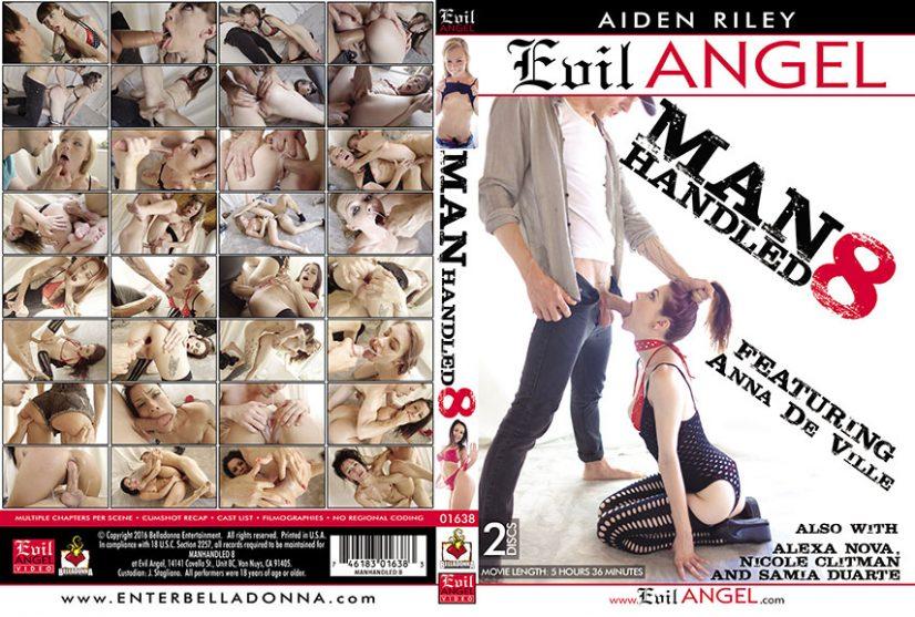 Manhandled #08 Porn DVD Image