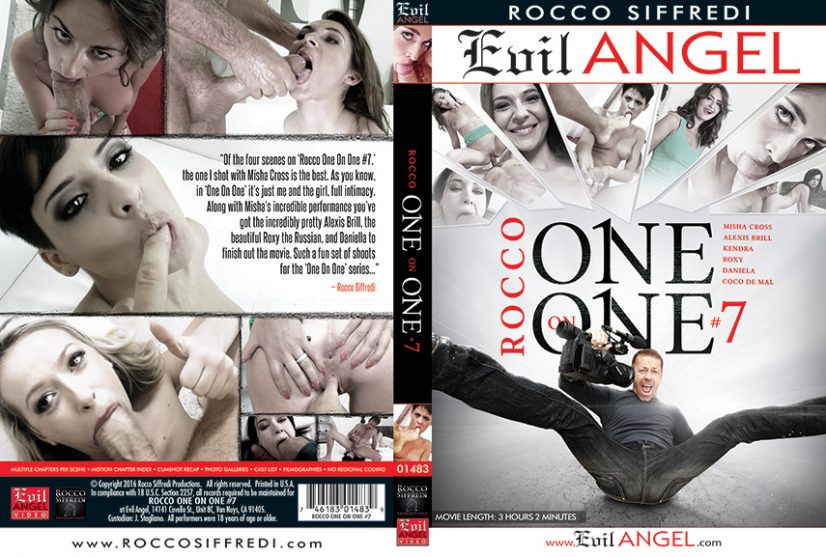 Rocco One on One 7 Porn DVD Image