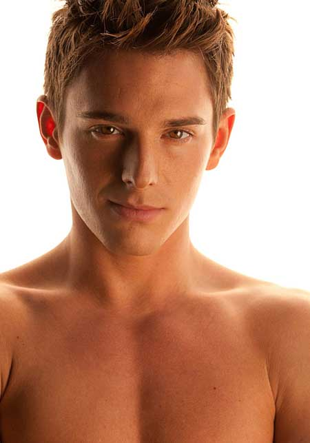 Brent Corrigan Brown Eyes Photo